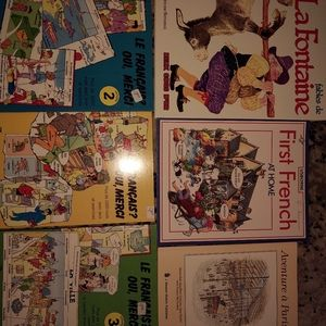 French books 6 total
